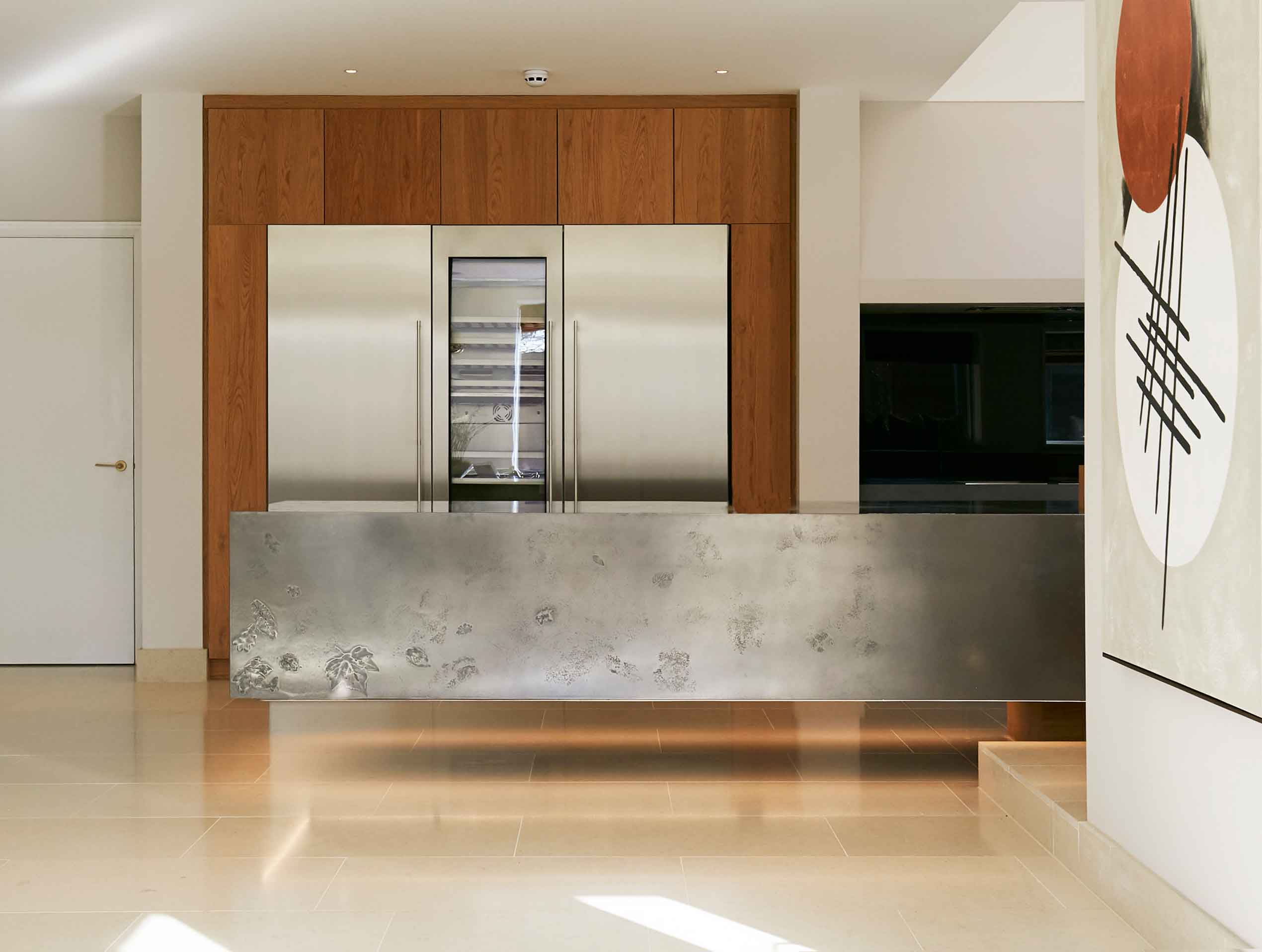 Ethos Construction Joinery | floating kitchen