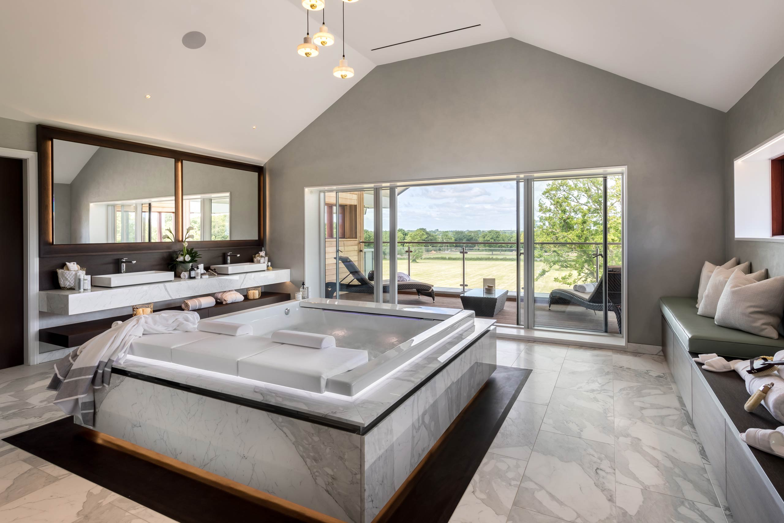 Ethos Construction | About | Spa room