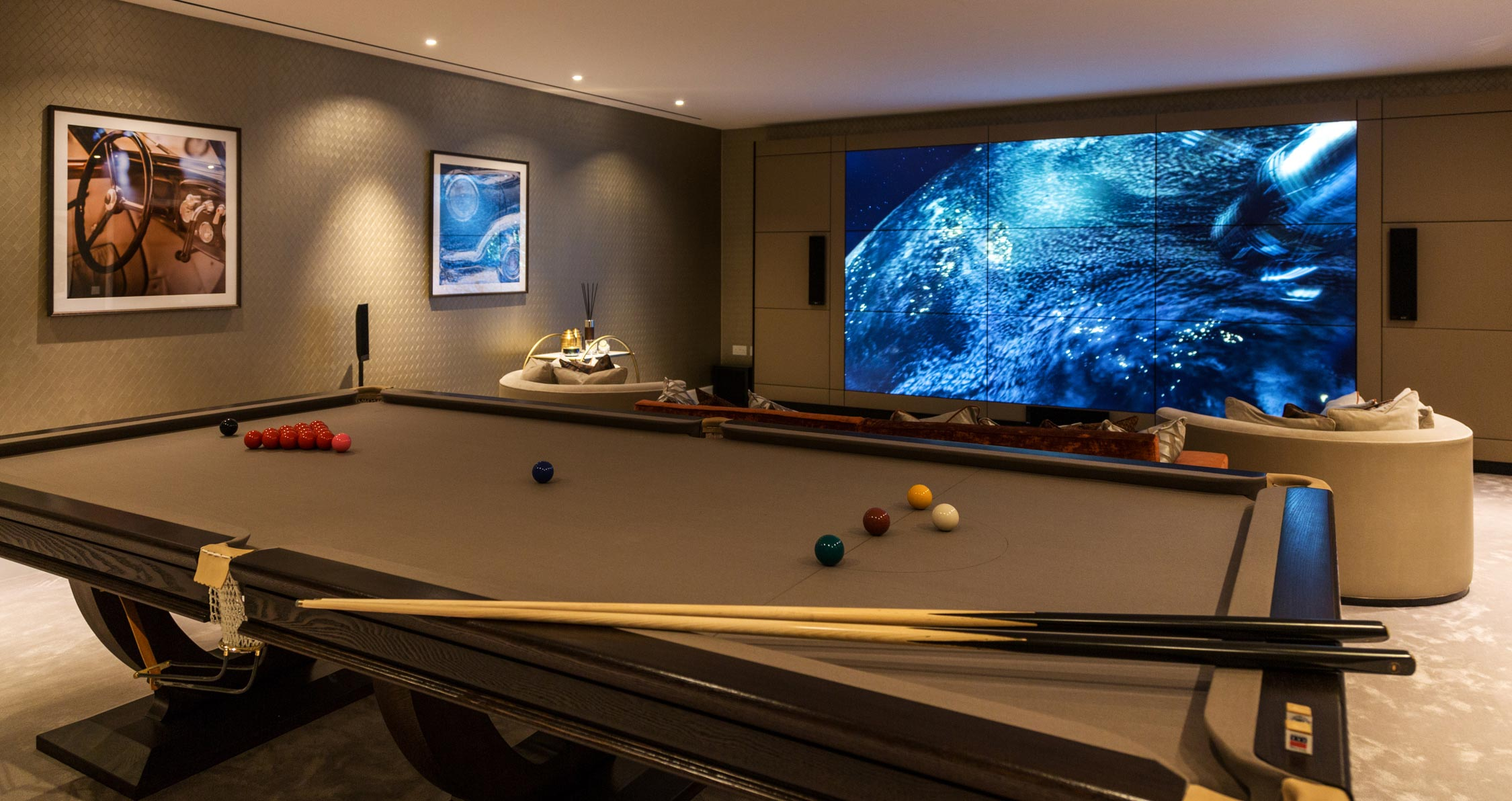 Ethos Construction | About | Pool room